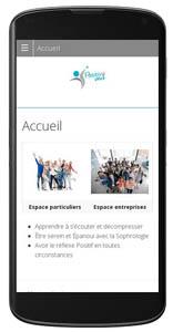 Exemple de siteresponsive design